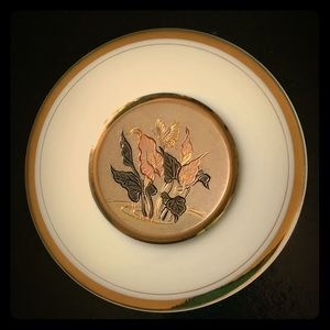 Vintage wall decoration plate